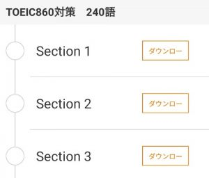 TOEIC860対策 240語 section123