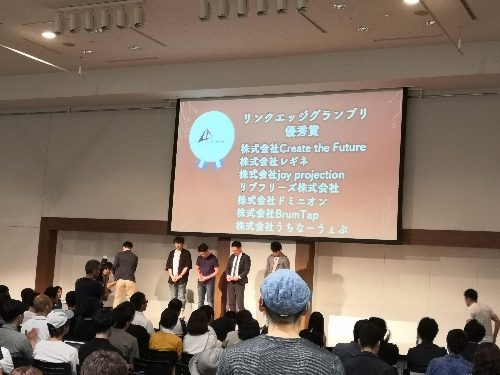 Link-A CONFERENCE 2019のレビュー表彰式