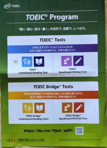 TOEICListening&Reading公式試験で机の上に置いてあるもの