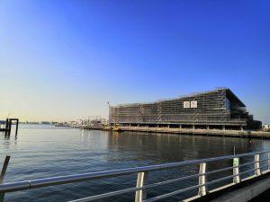 13号地客船ターミナル 東京国際クルーズターミナル300m 江東区青海2(湾岸署、南極観測船宗谷手前) まことブログ